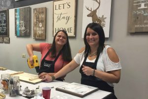 bachelorette party painting class
