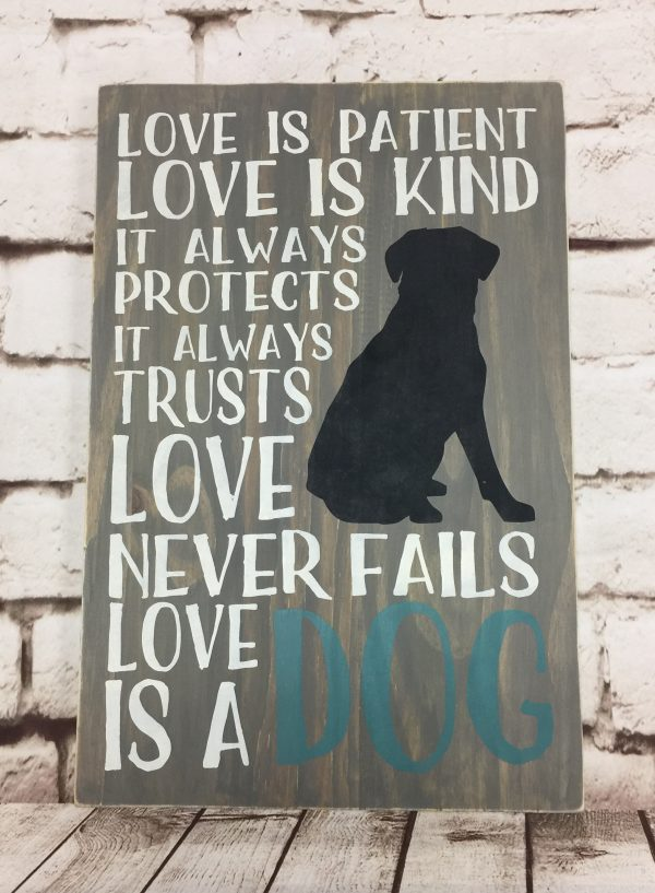 Love is a dog