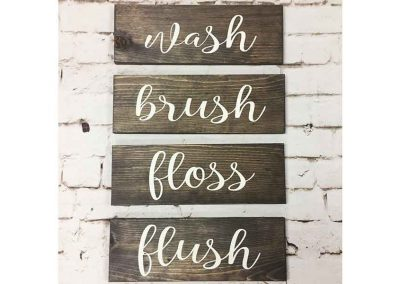 Washbrushflossflush