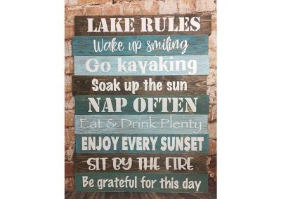 New LAKE rules