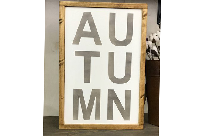 fall sign painting classes not board and brush