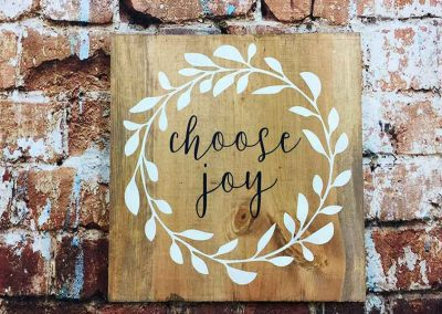 Choose Joy wreath