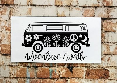 hippy van adventure