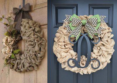 Burlap Wreath Workshops