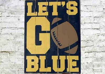 Let's go Blue