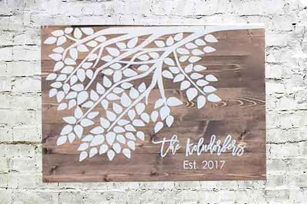 Bachelorette Party wedding signs traverse city